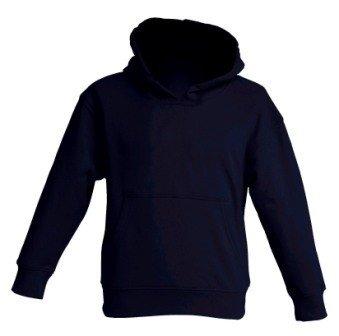 Odzież do haftu: Bluza dziecięca z kapturem 290g JHK