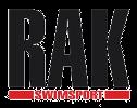 Rak swimsports logo = haft komputerowy