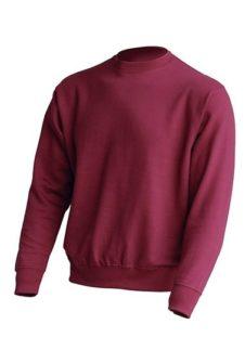 Bluza dresowa. Podwójne przeszycia ściągaczy i rękawów. Ściągacze wzmocnione lycrą.